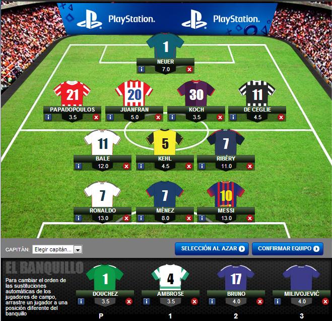 UEFA Champions League – fantasy