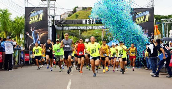 Salida Maratón Foto oficial
