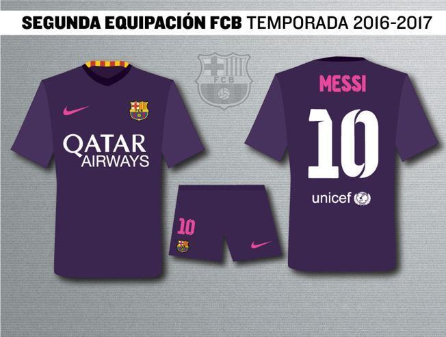 ebbf33f52a807 Revelan nueva camiseta del Barça para el 2016 – RadioHouse