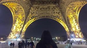Estefany Kattan Torre Eiffel