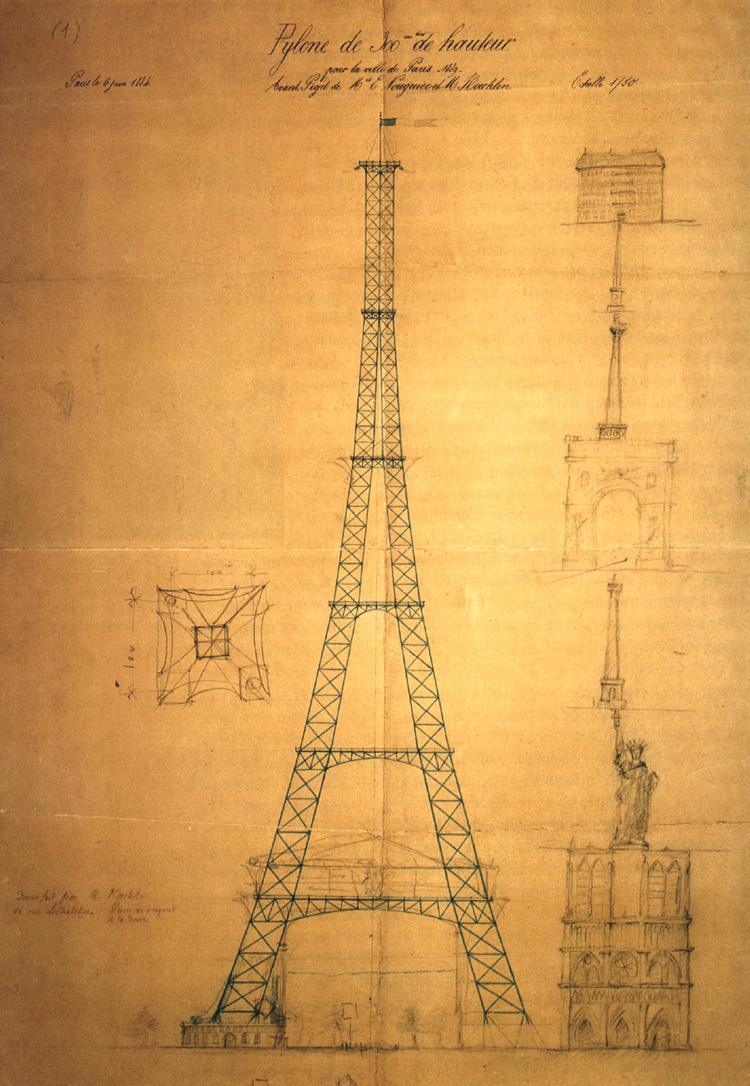 Torre Eiffel Boceto Radiohouse