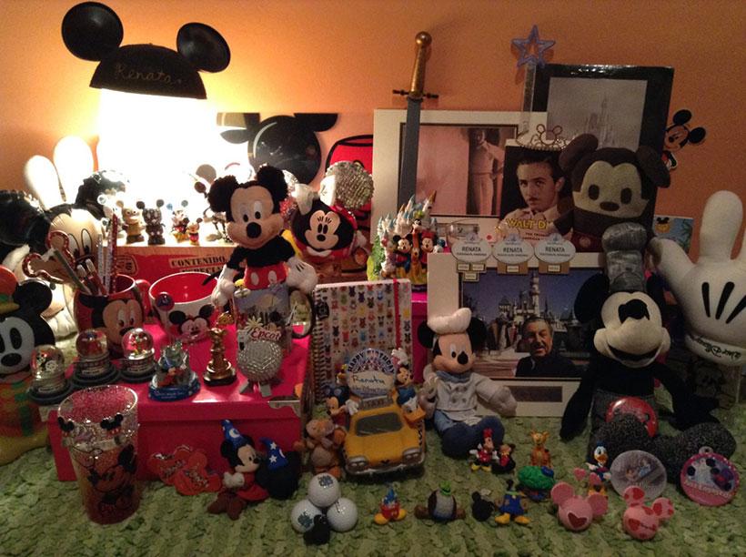 Colección de Disney. Foto Archivo Renata Espinal