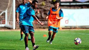 En la Temporada anterior Vuelto trabajó con las reservas del Tenerife de España. Foto de El Dorsal.