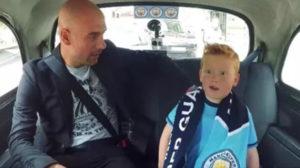 Pep-sorprende-a-niño-en-taxi