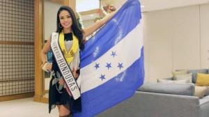 Miss Honduras Sirey Morán