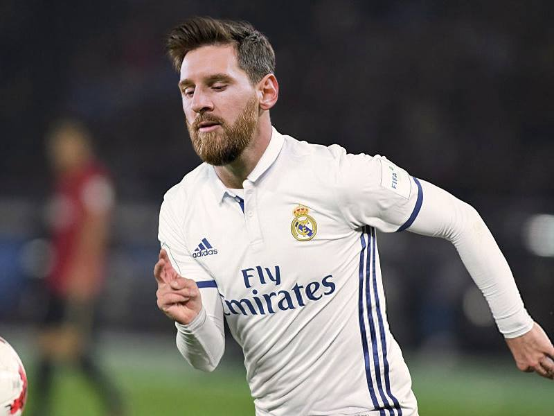 MESSI FICHA POR EL MADRID