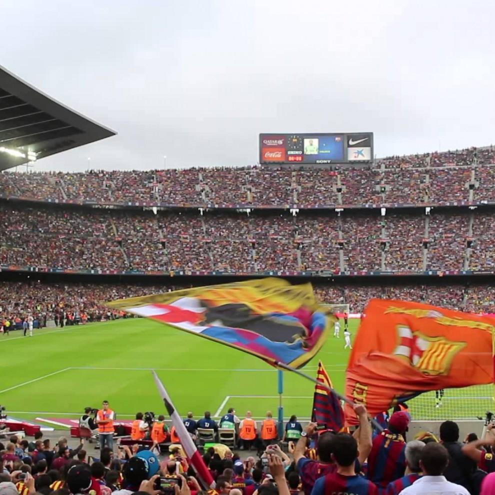 Afición del Barcelona