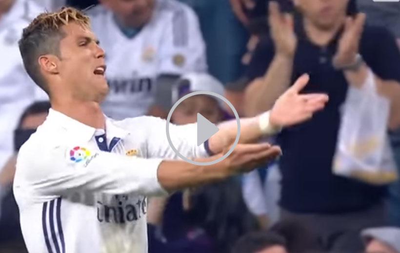 Cristiano Ronaldo Enojado