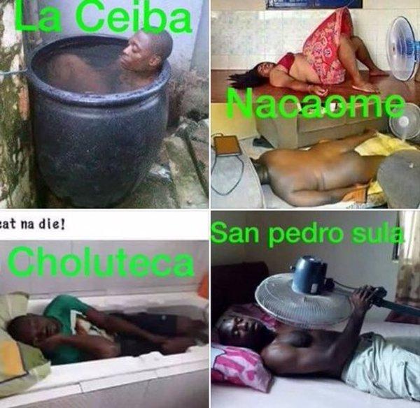 Meme calor en Honduras (5)