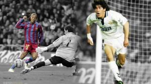 Real Madrid-Barcelona goleadas