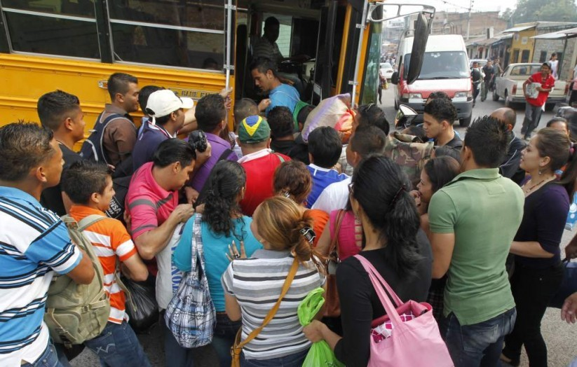 Buses llenos