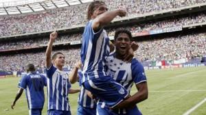 Carlo Costly vs Mexico en Copa Oro
