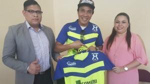 Foto compartida por Los Potros del Olancho FC (Facebook).