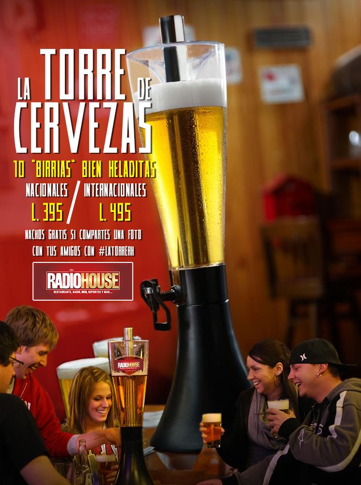 torre de cervezas