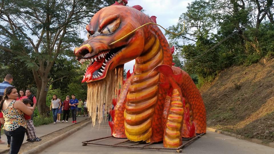 La chimenea más apreciada por todos, el dragón acuático