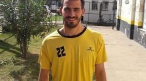 Defensor argentino Nicolás del Grecco.