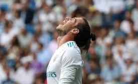Gareth Bale preocupado