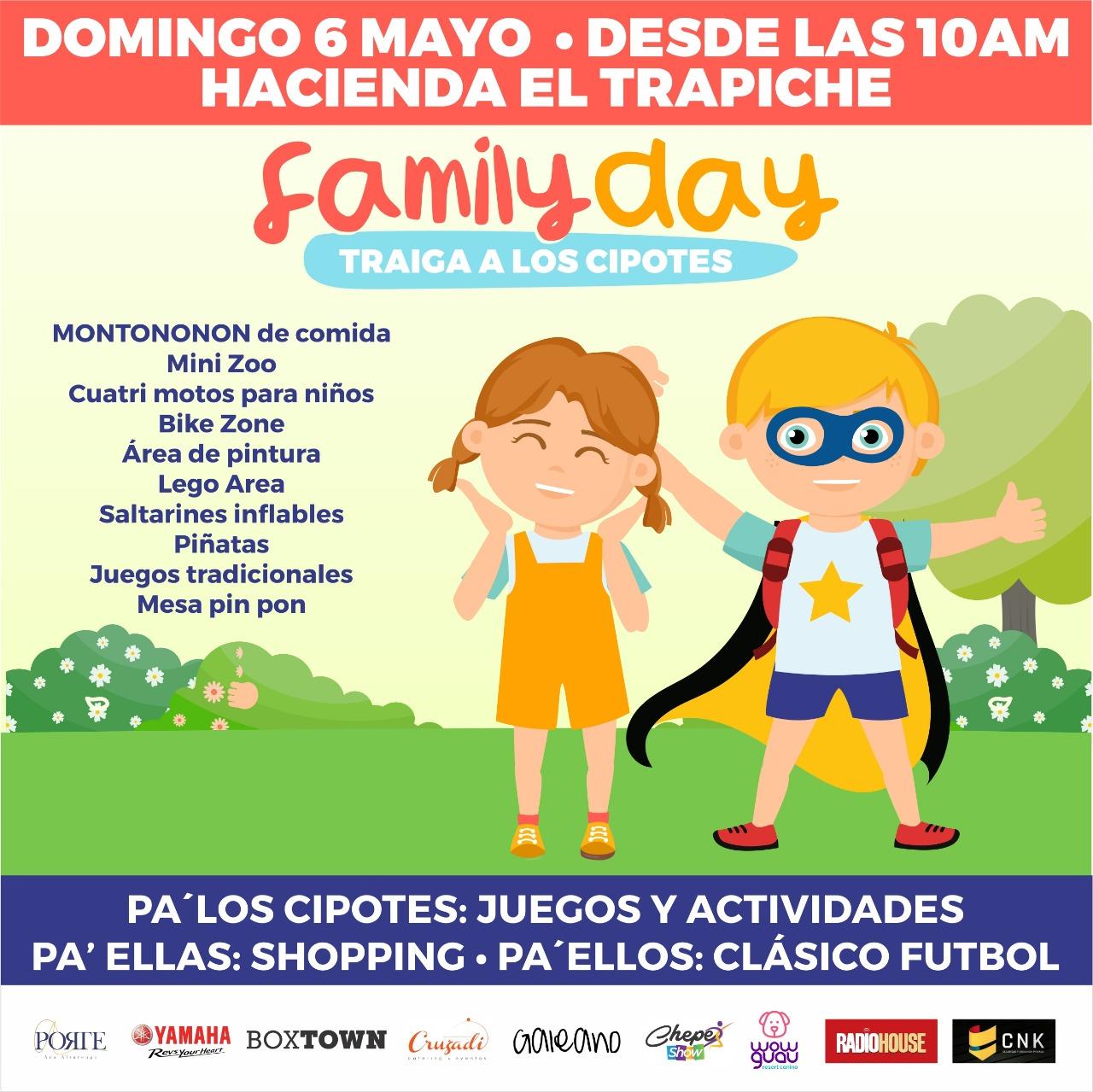 Domingo Lleven A Los Cipotes Al Family Day En Hacienda El Trapiche