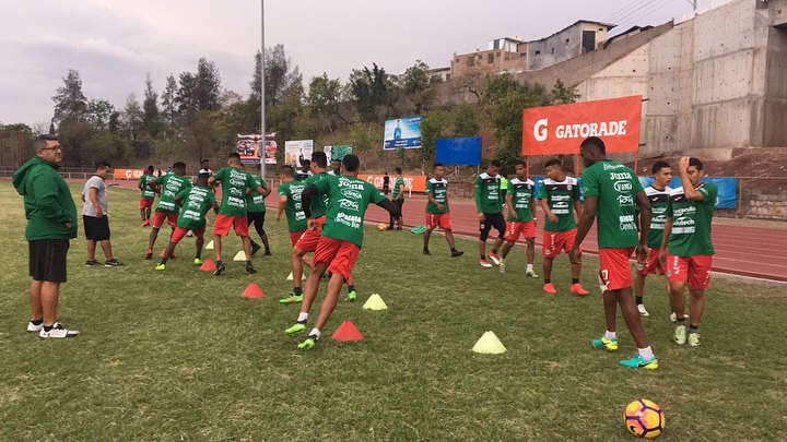 Foto compartida por Club Deportivo Marathón - Oficial (Facebook).