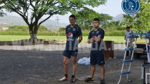 Roberto Moreira y Matías Galvaliz.