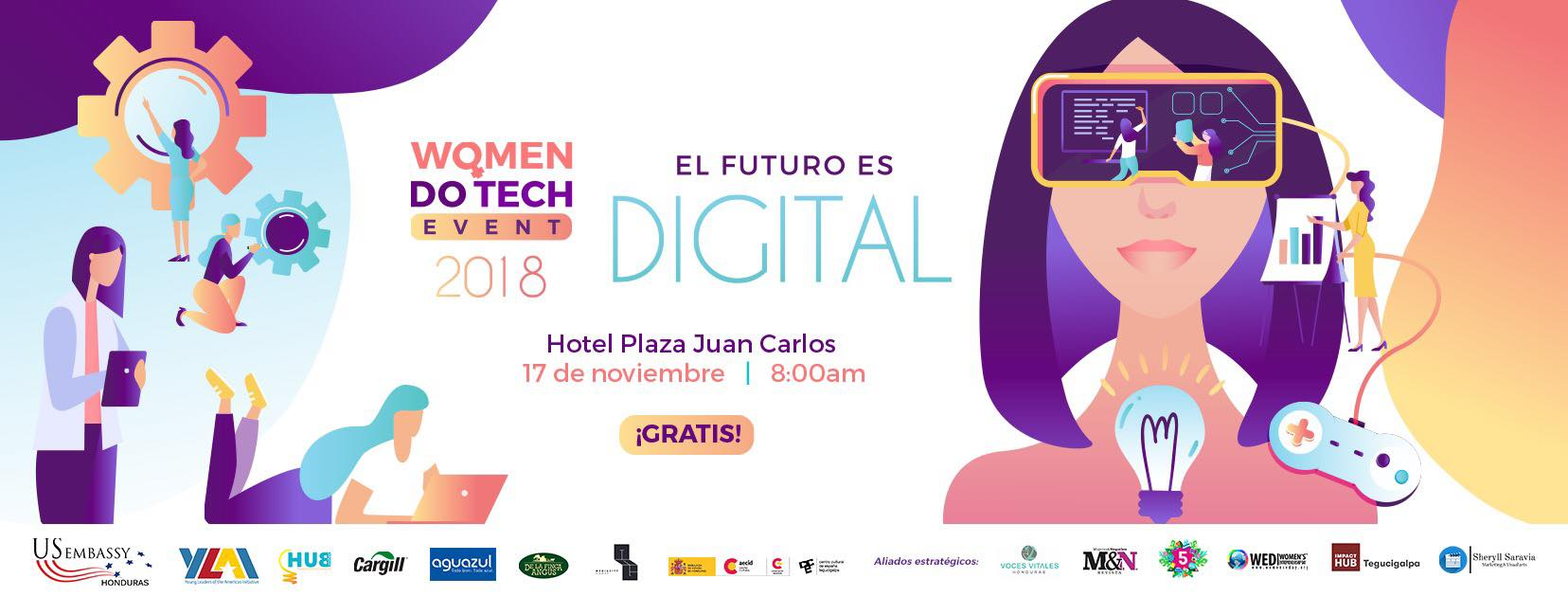 Fuente: Women Do Tech/Facebook