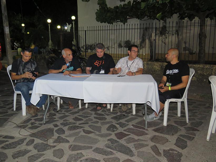 Los organizadores de Nicaragua, Honduras, El Salvador, Costa Rica y Guatemaña
