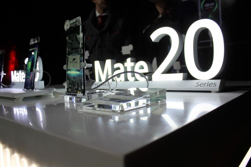 Lanzamiento Huawei Mate 20
