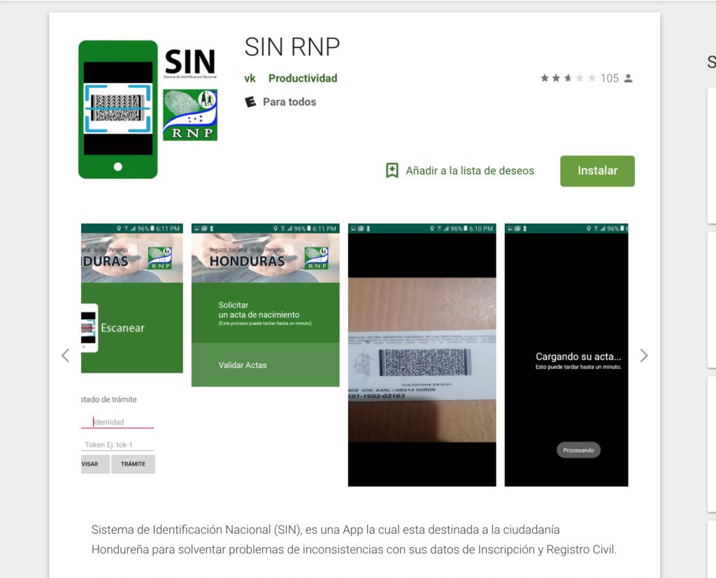 App RNP