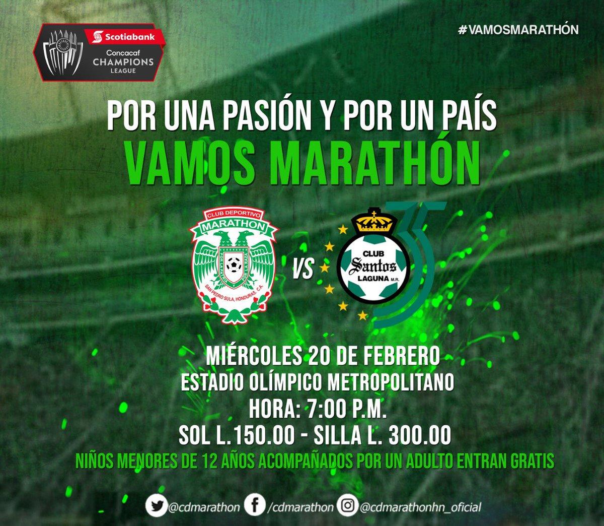 Marathón_Concacaf
