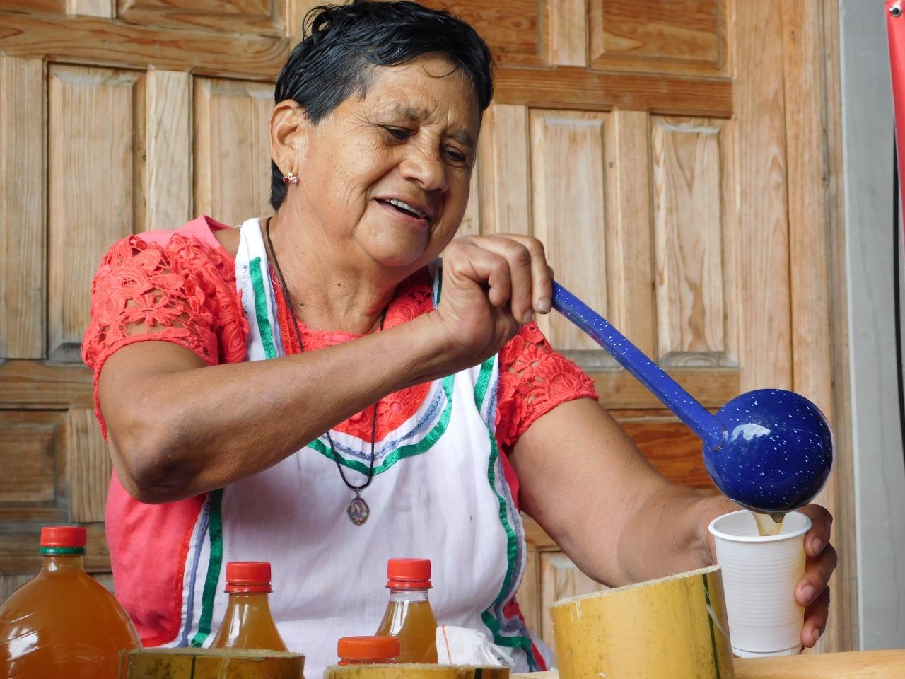 Diferente tipo de bebidas fueron degustadas en Cantarrana