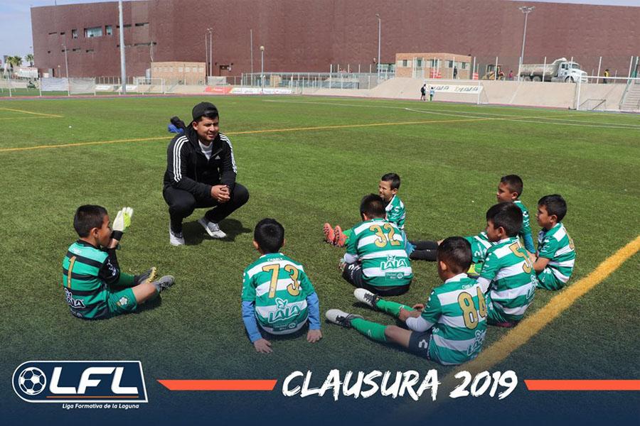 Foto de la Liga Formativa de la Laguna (Facebook).