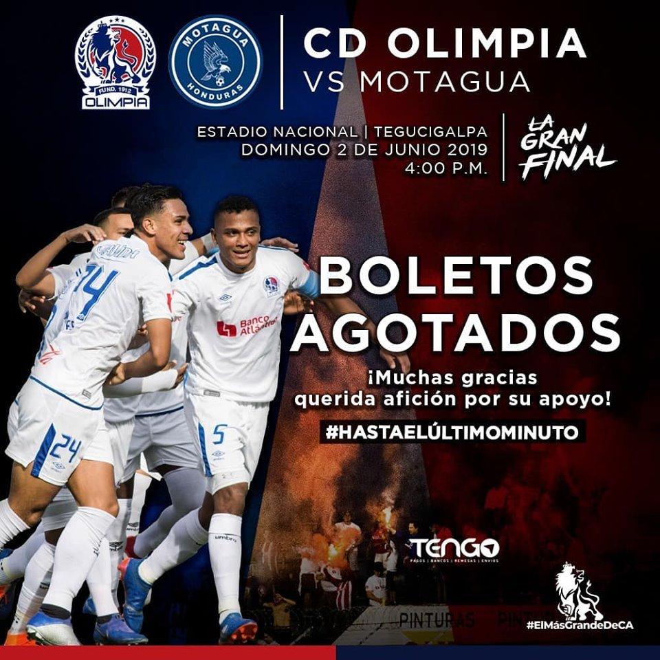 Fuente: Club Olimpia Deportivo