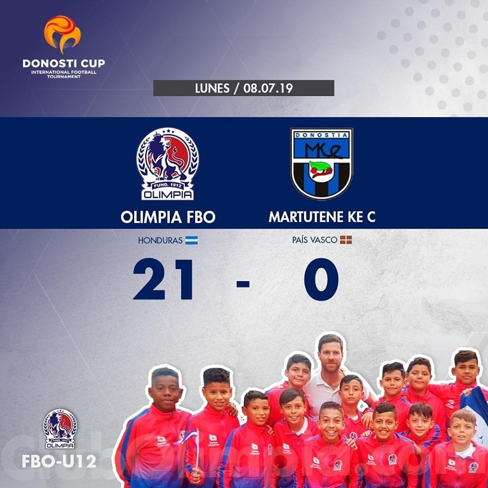 Fuente: Club Deportivo Olimpia