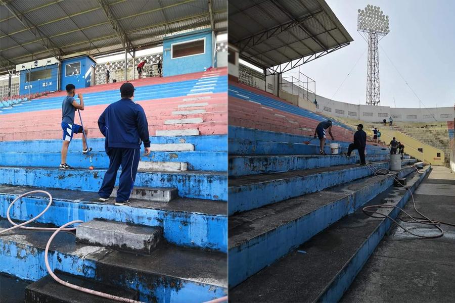 Foto del Comité Pro Estadio Ceibeño