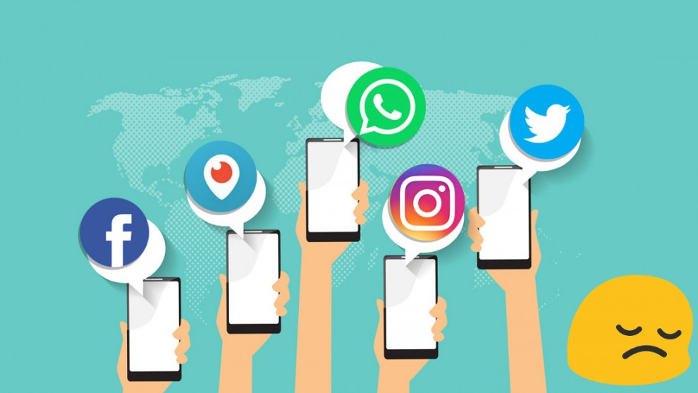 Las redes sociales podrían estar dañando la salud mental