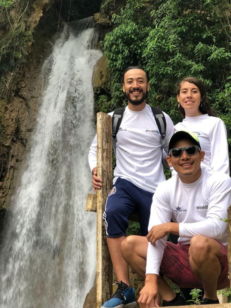 """Fuente: Cascada La Boquita, """"El Cacao"""" Aldea la boquita, Danta bárbara"""