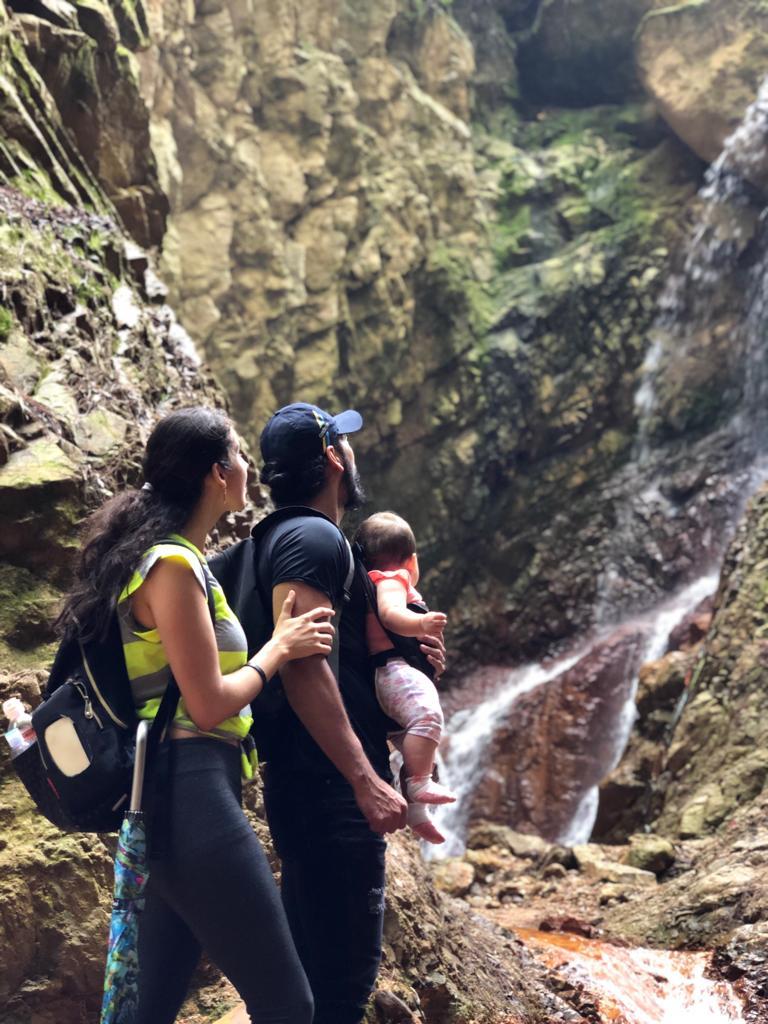 Cascada Las Golondrinas, Valle de Ángeles, Francisco Morazán